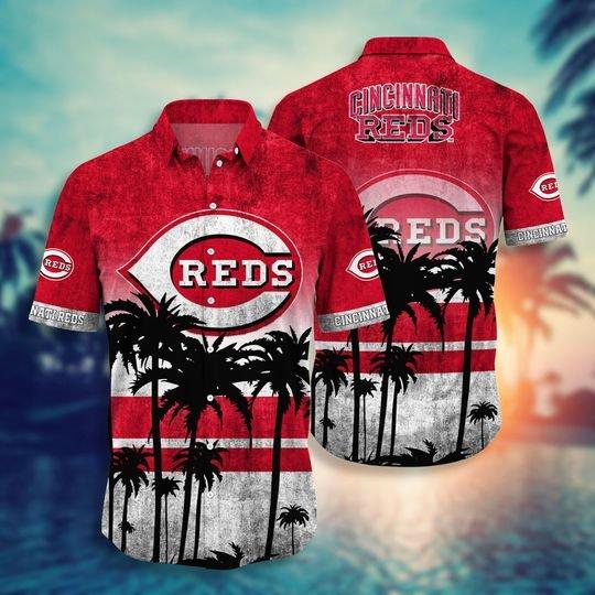 Cincinnati Reds Hawaiian Shirt -BBS