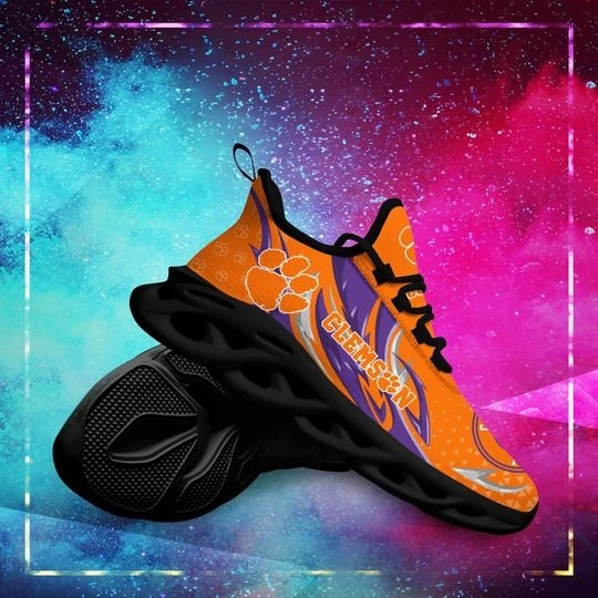 Clemson Tigers clunky max soul shoes - LIMITED EDITION