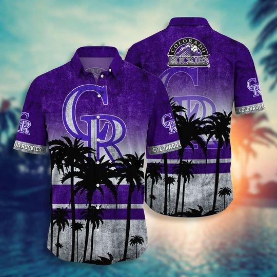 Colorado Rockies Hawaiian Shirt -BBS