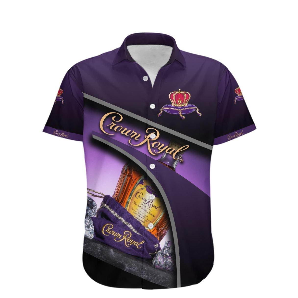 Crown Royal Hawaiian shirt - LIMITED EDITION