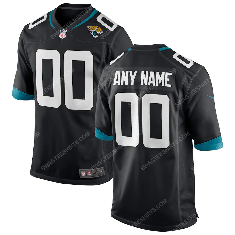 Custom jacksonville jaguars football full print football jersey-black