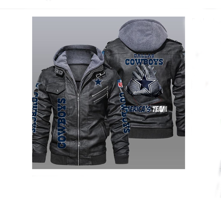 Dallas Cowboys America's Team Leather Jacket - LIMITED EDITION
