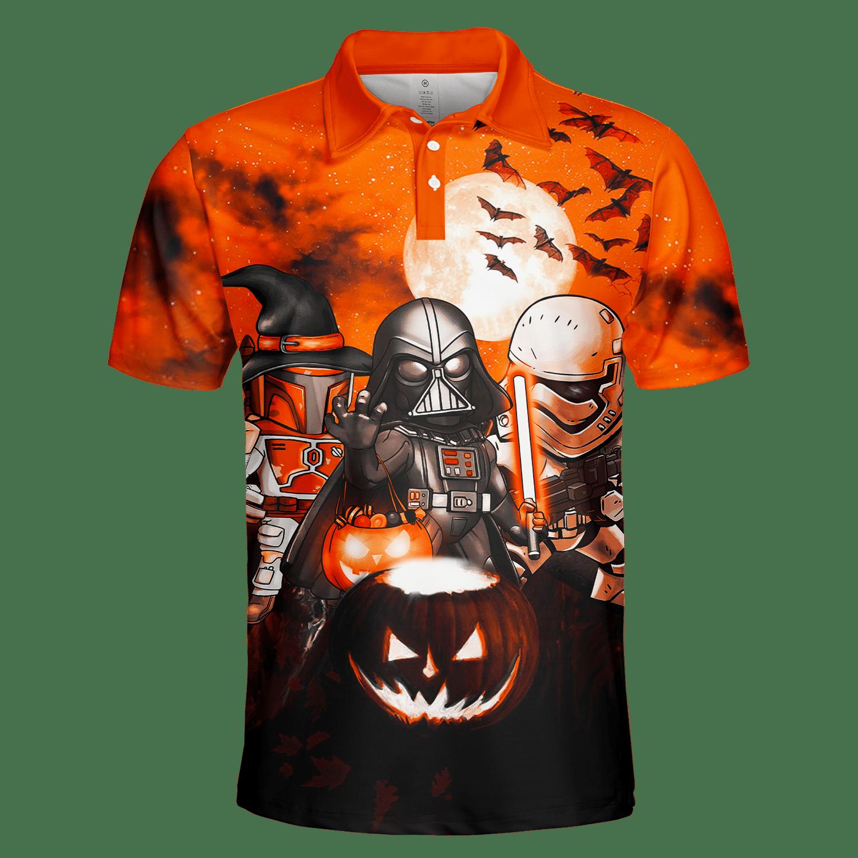 Darth Vader Boba Fett Storm Trooper Halloween POLO SHIRT - LIMITED EDITION