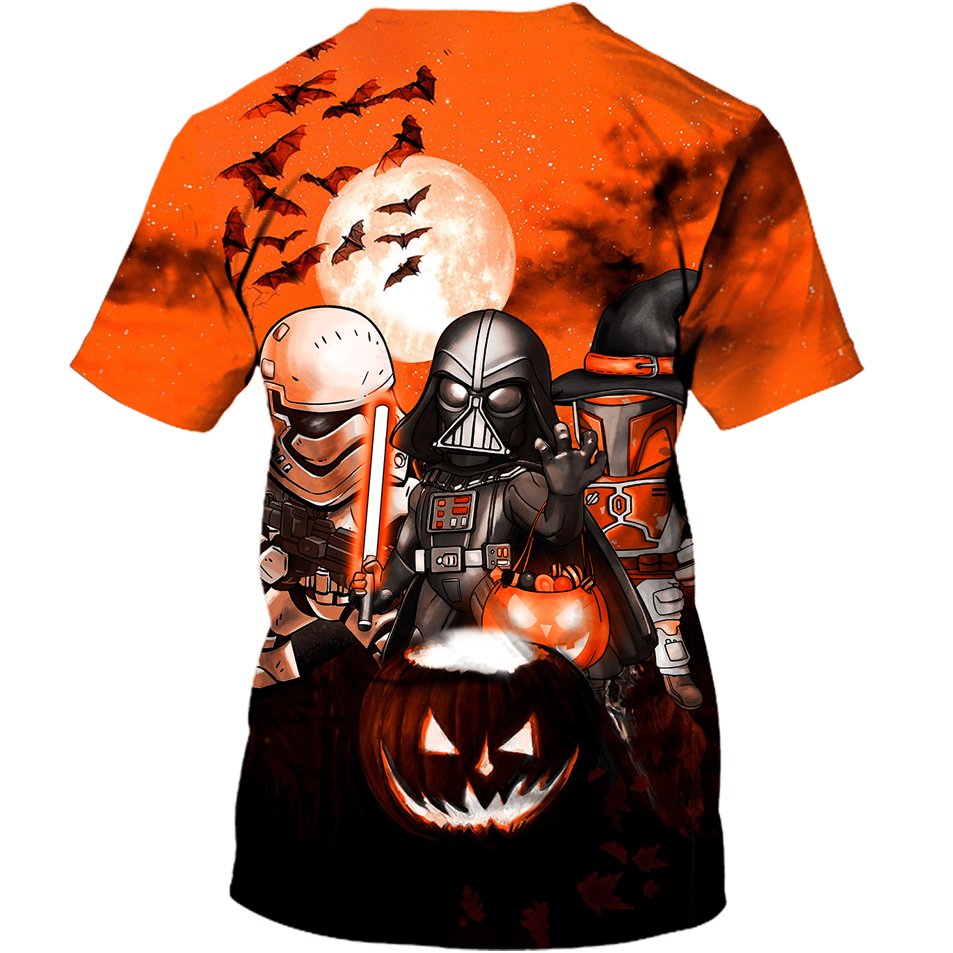 Darth Vader Boba Fett Storm Trooper Halloween shirt and hoodie - LIMITED EDITION