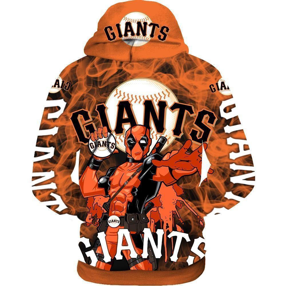 Deadpool San francisco giants 3d hoodie - LIMITED EDITION
