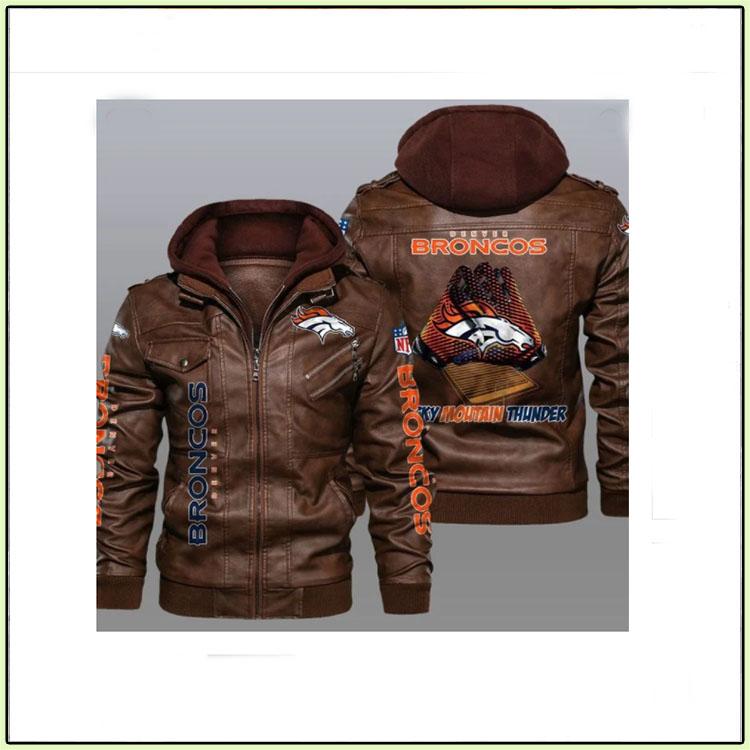Denver Broncos Leather Jacket - LIMITED EDITION