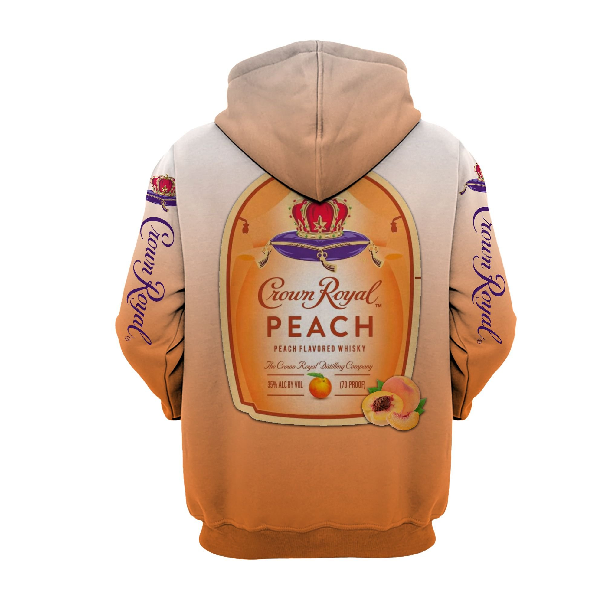 Dory Crown Royal Peach I'm never drinking again 3d hoodie - LIMITED EDITION