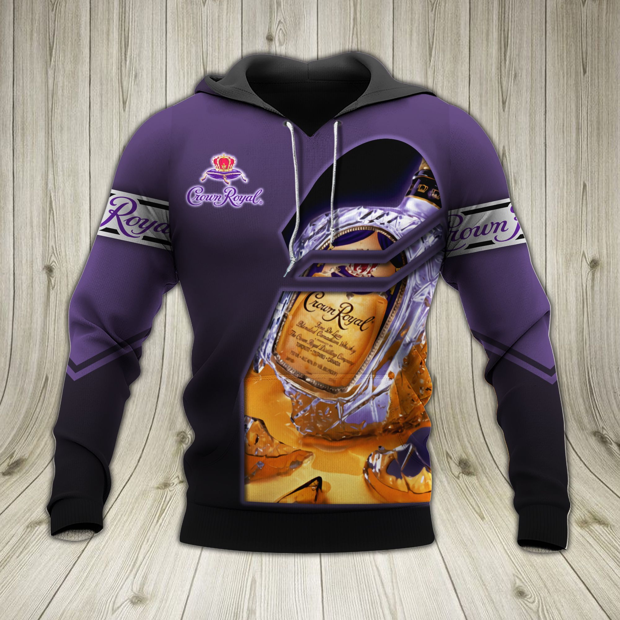 Crown Royal 3d hoodie - LIMITED EDITION