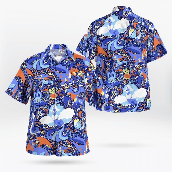 Dragon Pokémon Hawaii Shirt - BBS