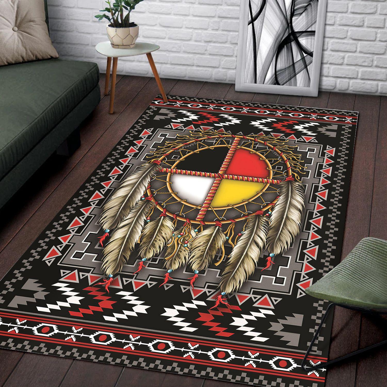 Dreamcatcher Native American rug carpet