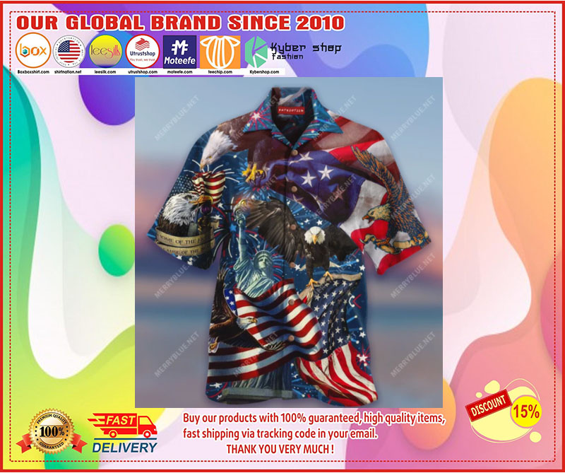 Eagle american flag hawaiian