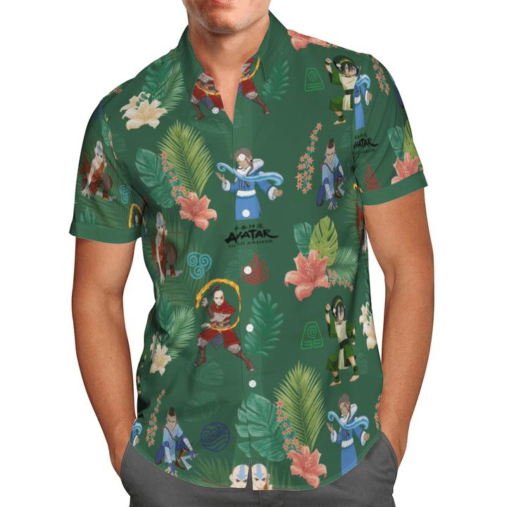 Earth kingdom hawaiian shirt