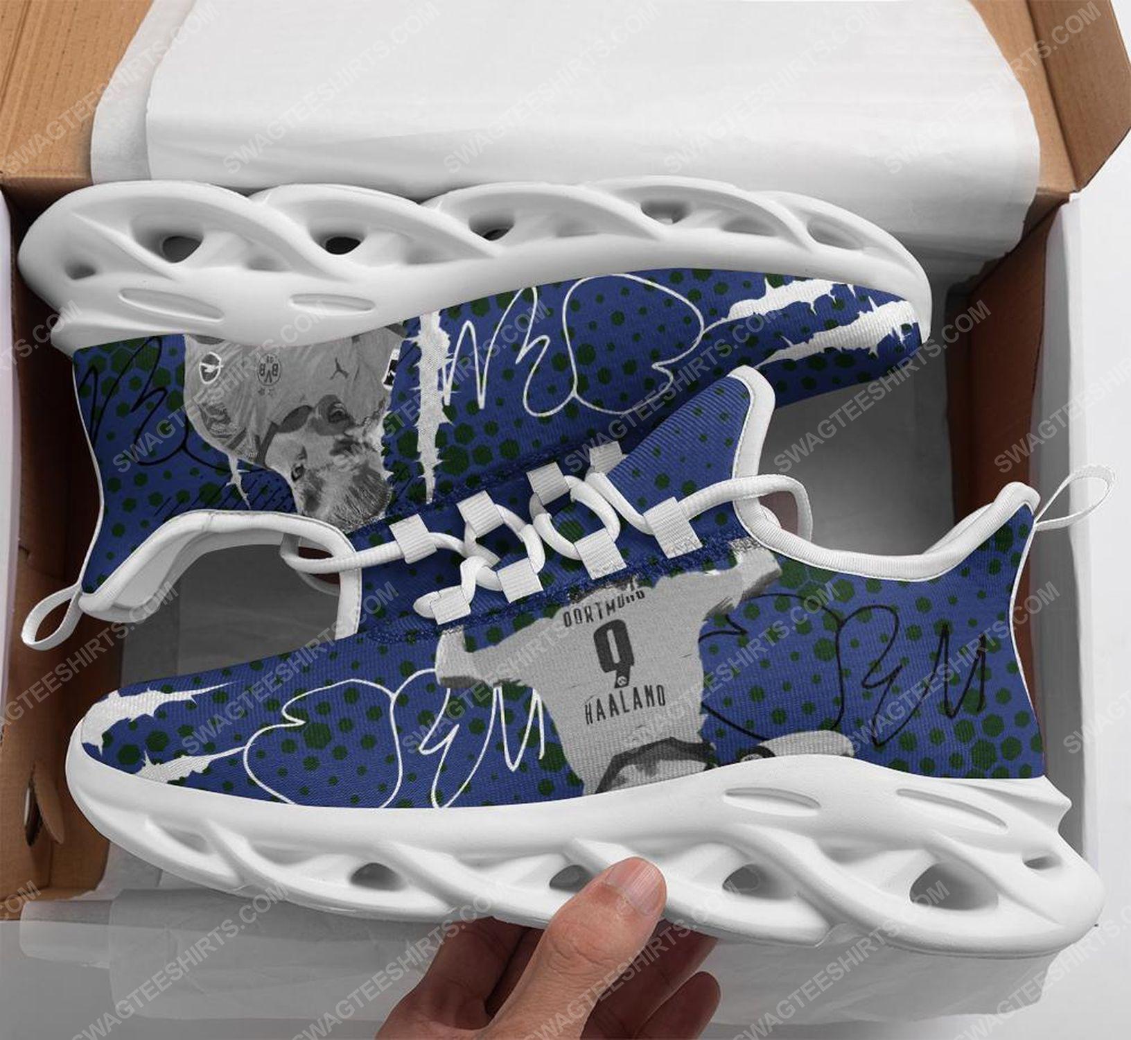 Erling haaland borussia dortmund football club max soul shoes 1