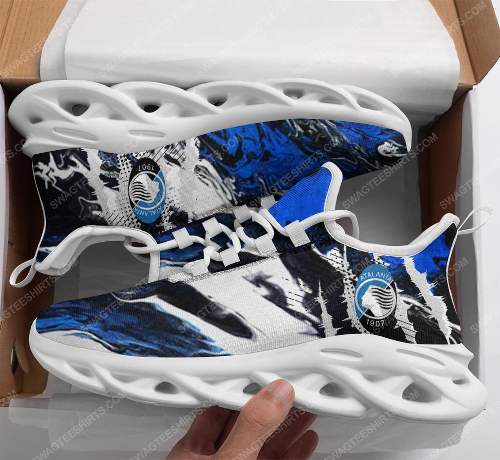 Football club atalanta bergamasca calcio max soul shoes 1
