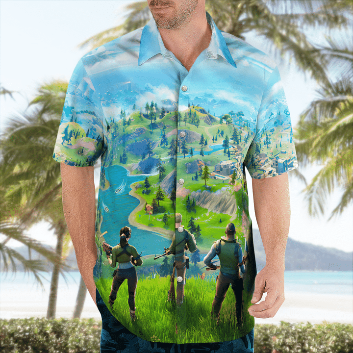Fortnite hawaiian shirt - LIMITED EDITION