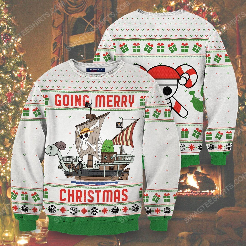 Going merry christmas full print ugly christmas sweater 1