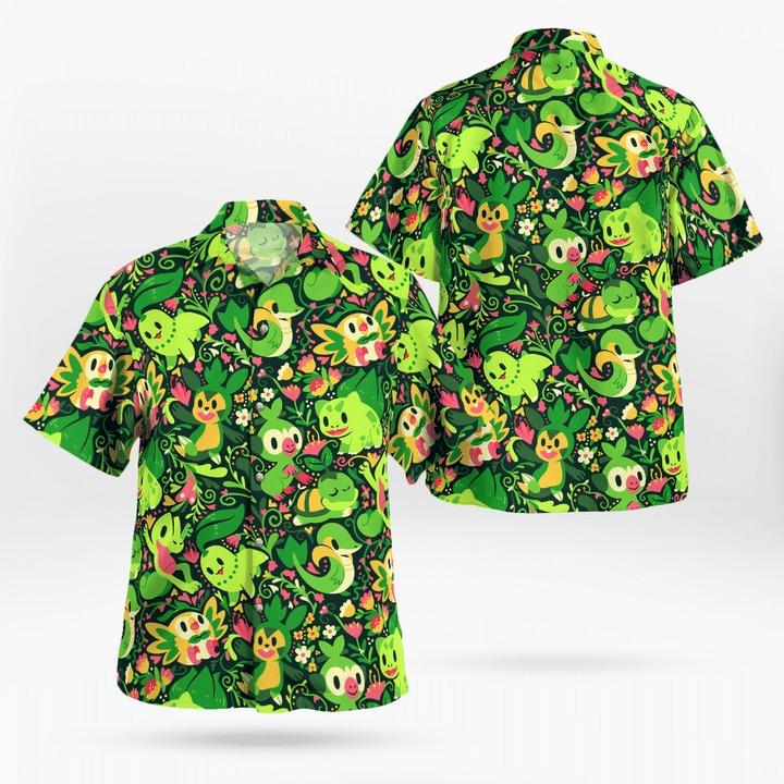Grass Pokémon Hawaii Shirt - BBS
