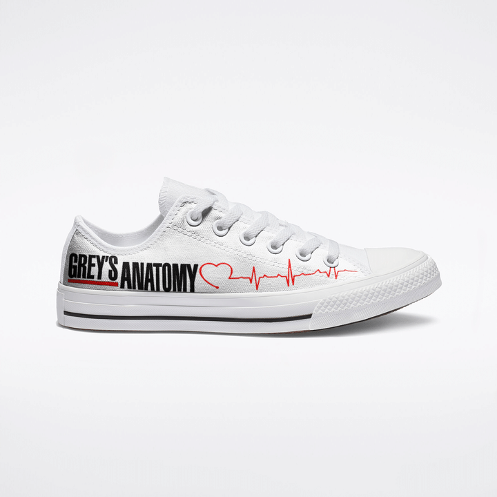 Grey's anatomy low top shoes - LIMITED EDITION