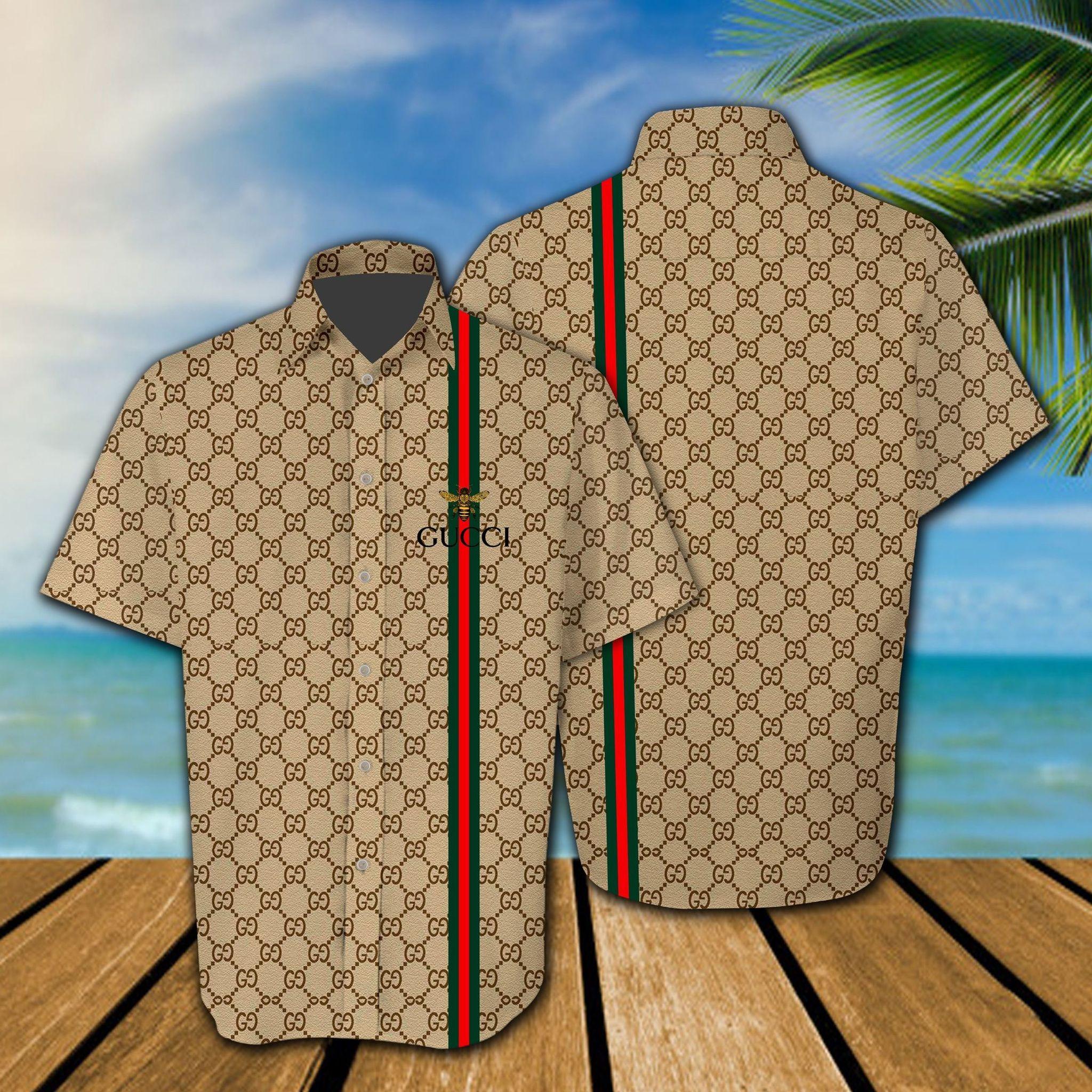 Gucci 3d all over printed Hawaiian shirt - LIMITED EDITION