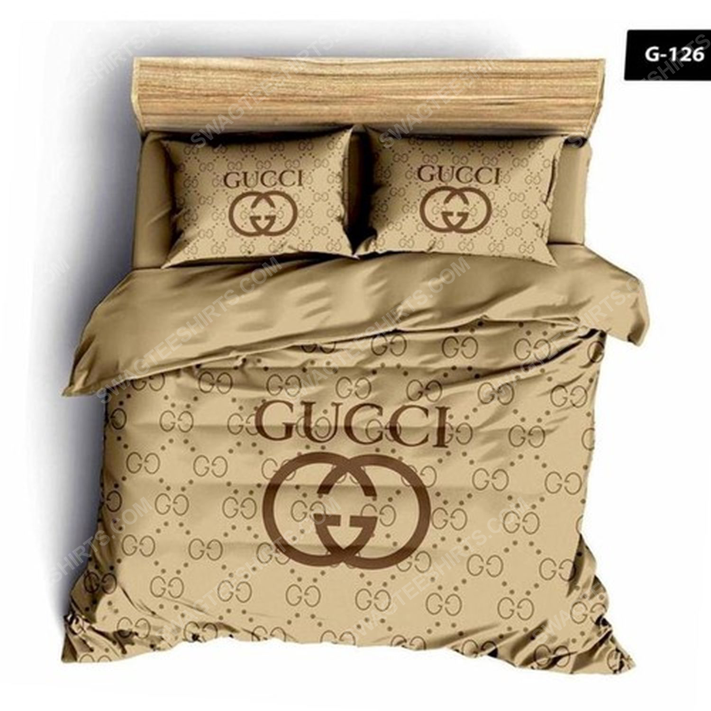 Gucci full print duvet cover bedding set 1