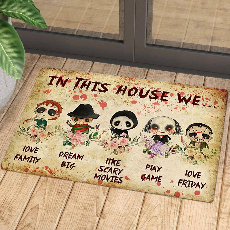 Horror characters we have been expecting you doormat - LIMITED EDITION