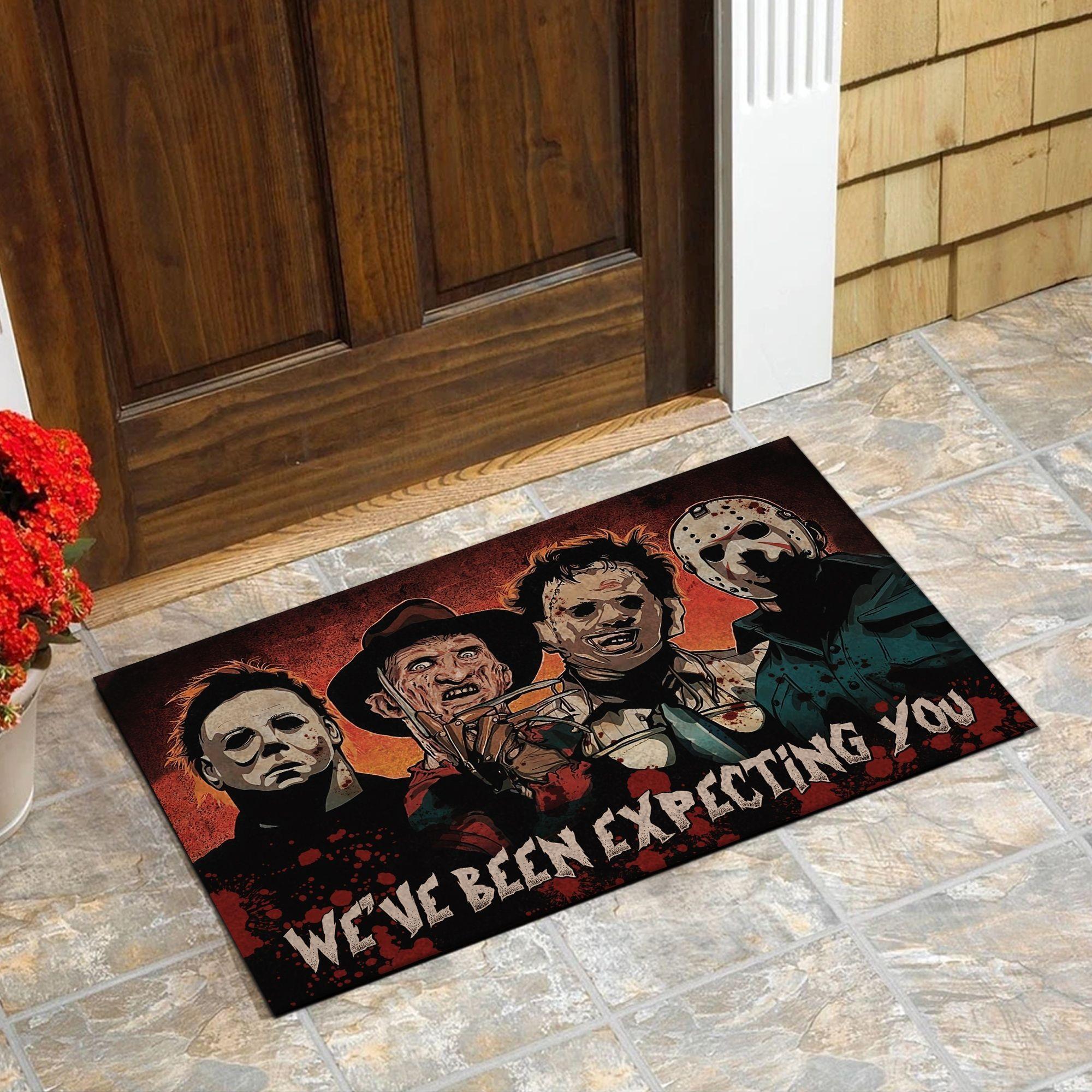 Horror killers We've been expecting you doormat - Picture 2