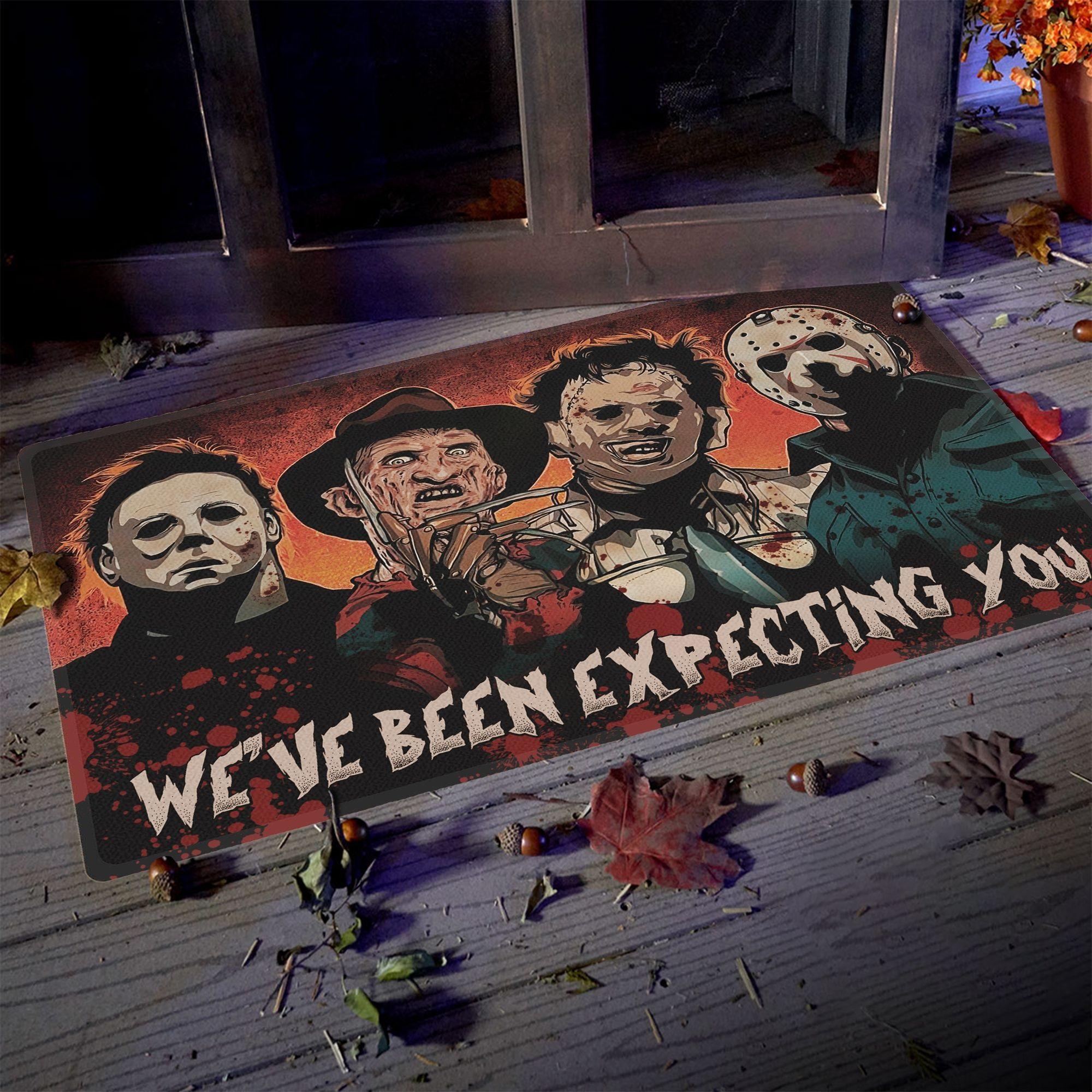Horror killers We've been expecting you doormat