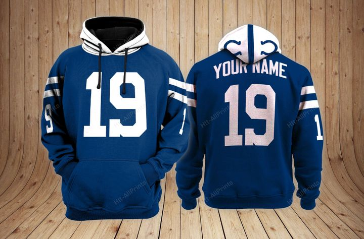 Indianapolis colts custom name hoodie - LIMITED EDITION