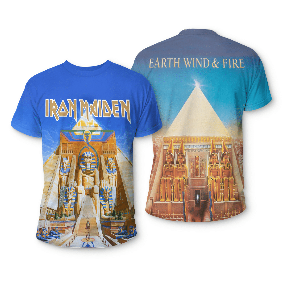 Iron Maiden 3d all over print shirt - LIMITED EDITION