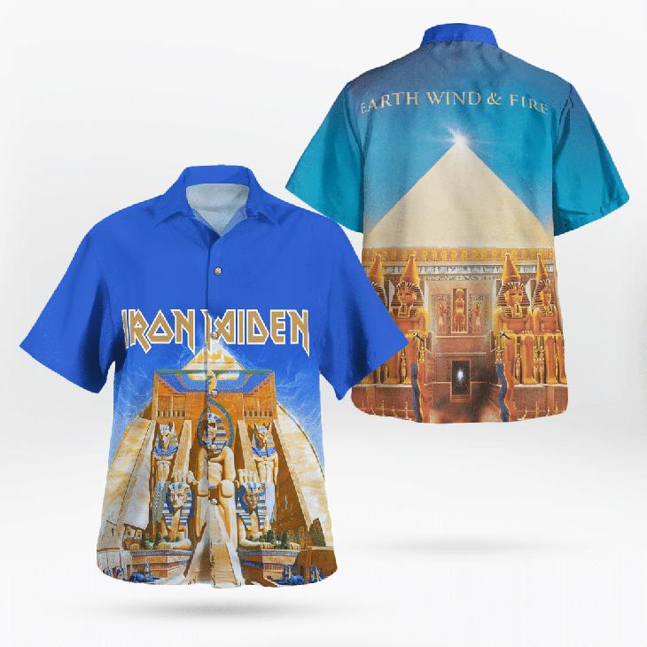 Iron Maiden Hawaiian Shirt - LIMITED EDITION