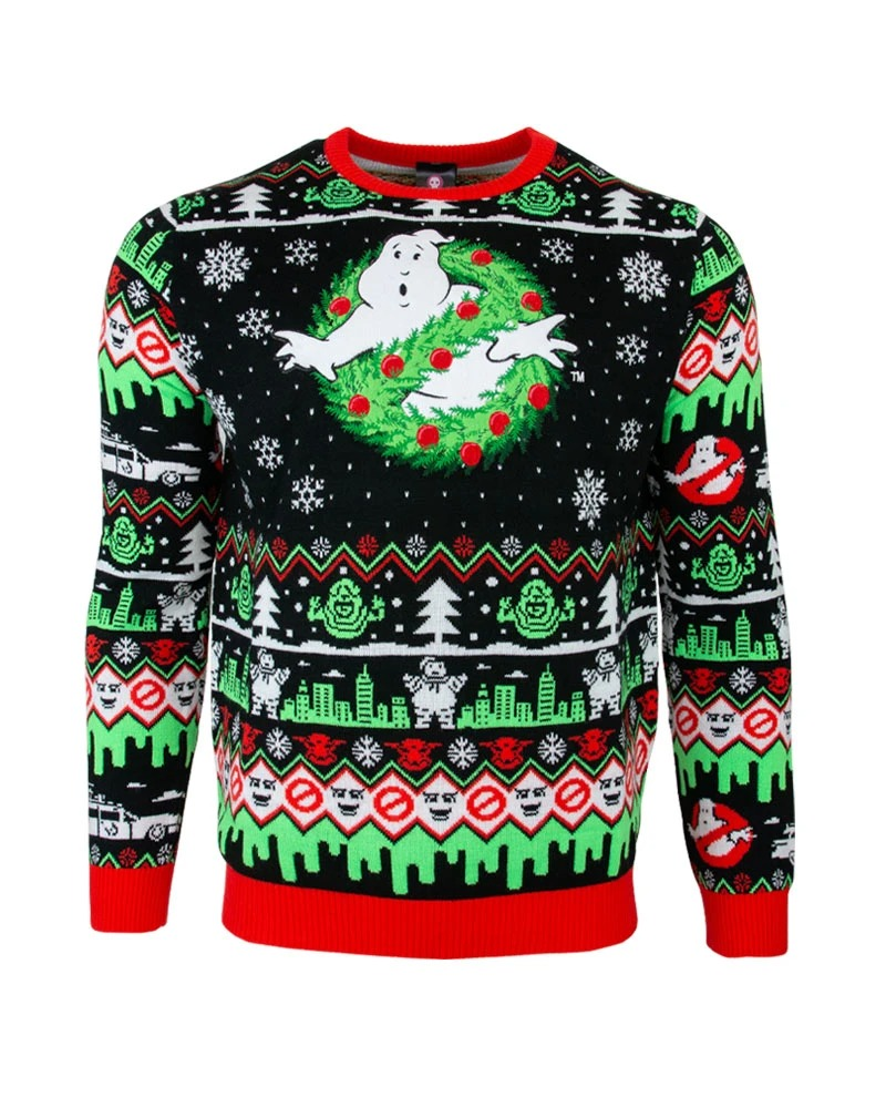 Ghostbusters christmas sweater and jumper