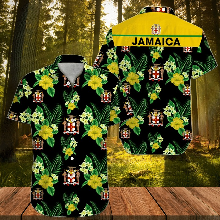 Jamaica Floral Hawaiian Shirt