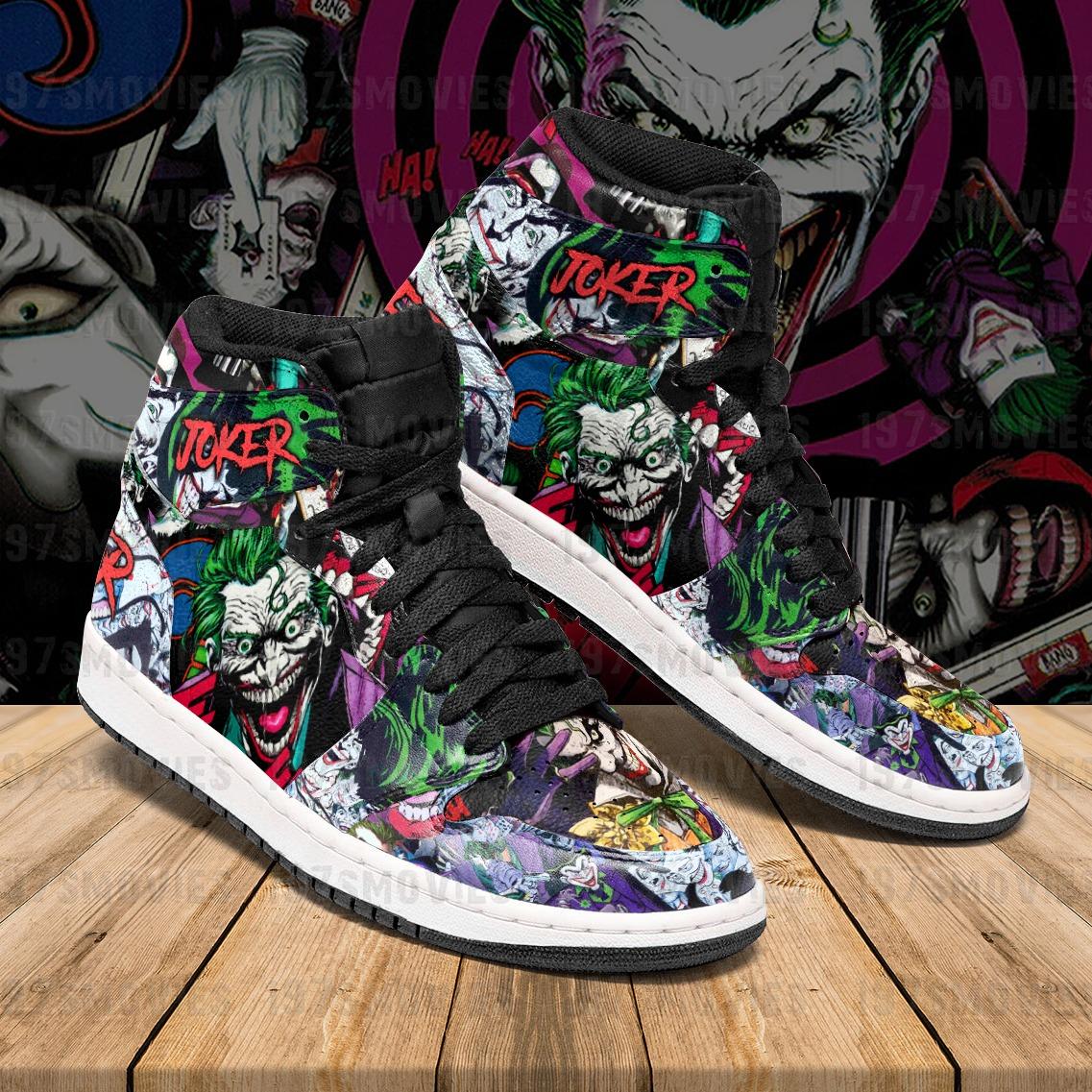 Joker JD Sneaker High Top Shoes - Hothot 020921