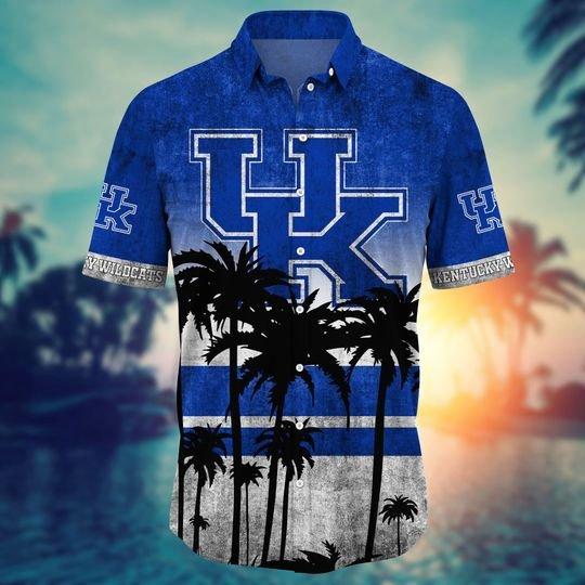 Kentucky Wildcats Summer Hawaiian Shirt, short -BBS
