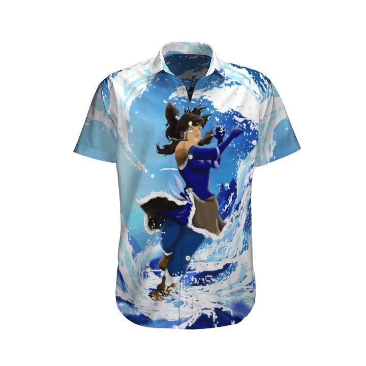 Korra hawaiian shirt