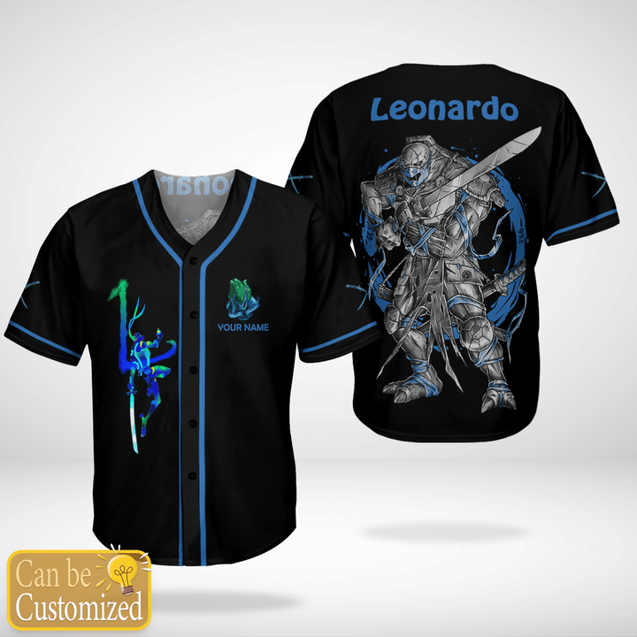 Leonardo Custom Name Baseball Jersey Shirt - LIMITED EDITION