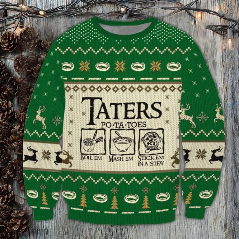 Lord of the Rings Taters Potatoes Sweater