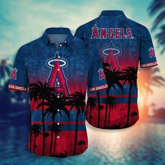 Los Angeles Angels Hawaiian Shirt -BBS