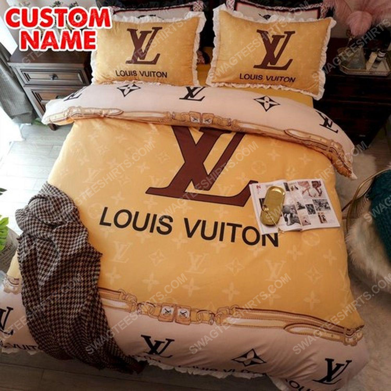 Lv full print duvet cover bedding set 1