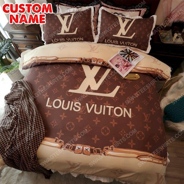 Lv monogram original full print duvet cover bedding set 1