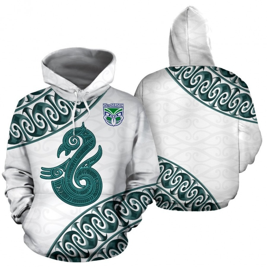 Manaia Warrior 3D All Over Print Hoodie
