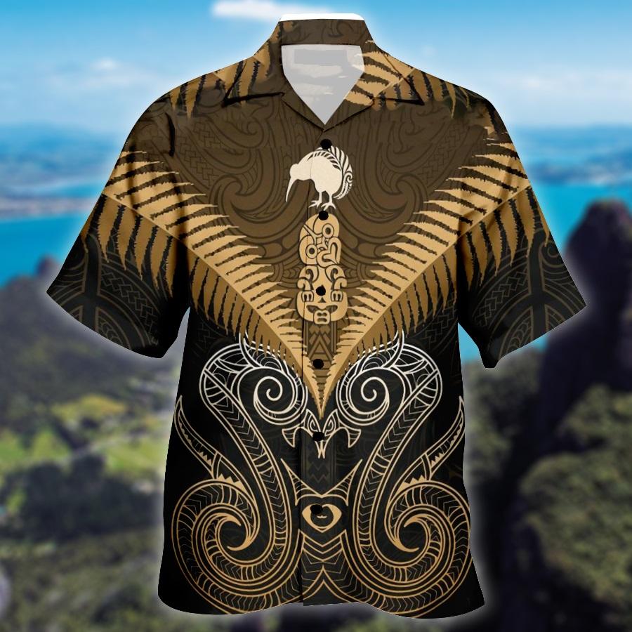 Maori Manaia New Zealand Hawaiian Shirt