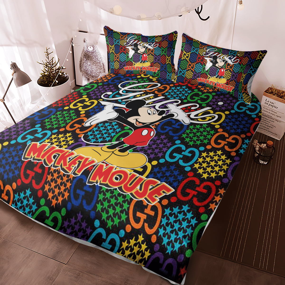 Mickey Mouse Gucci bedding set - LIMITED EDITION