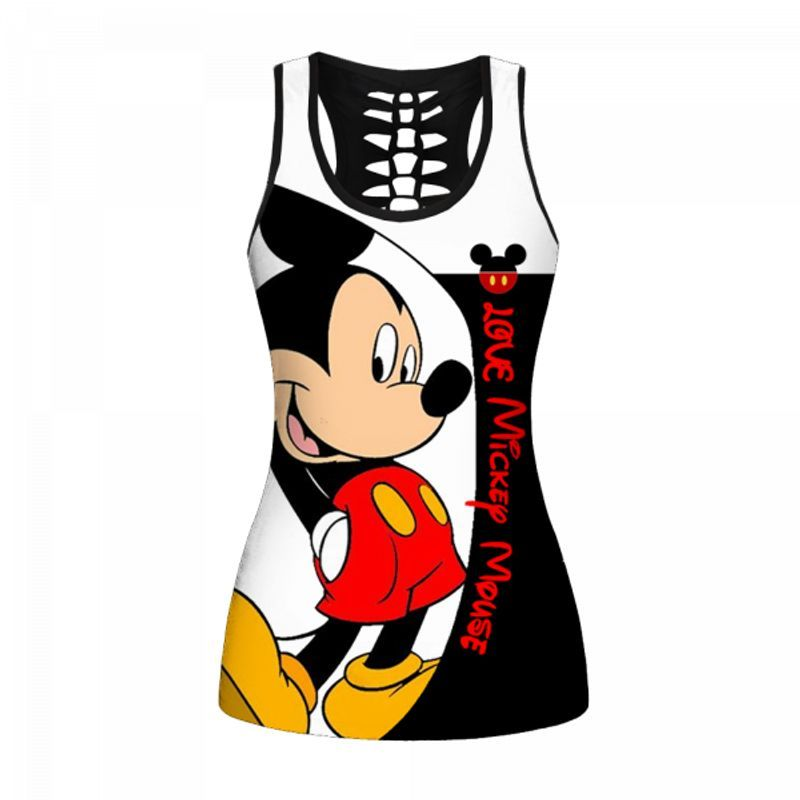 Mickey Mouse all over print legging and tank top - LIMITED EDITION