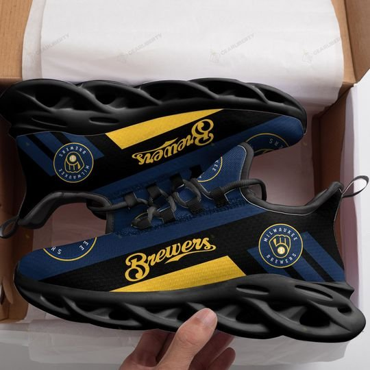 Milwaukee brewers max soul clunky shoes - LIMITED EDITION