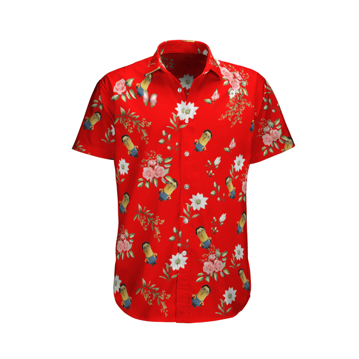 Mini cage hawaiian shirt
