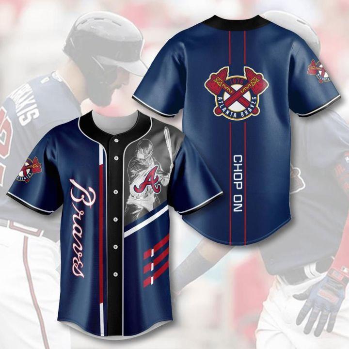 Mlb atlanta braves baseball jersey - LIMITED EDITION