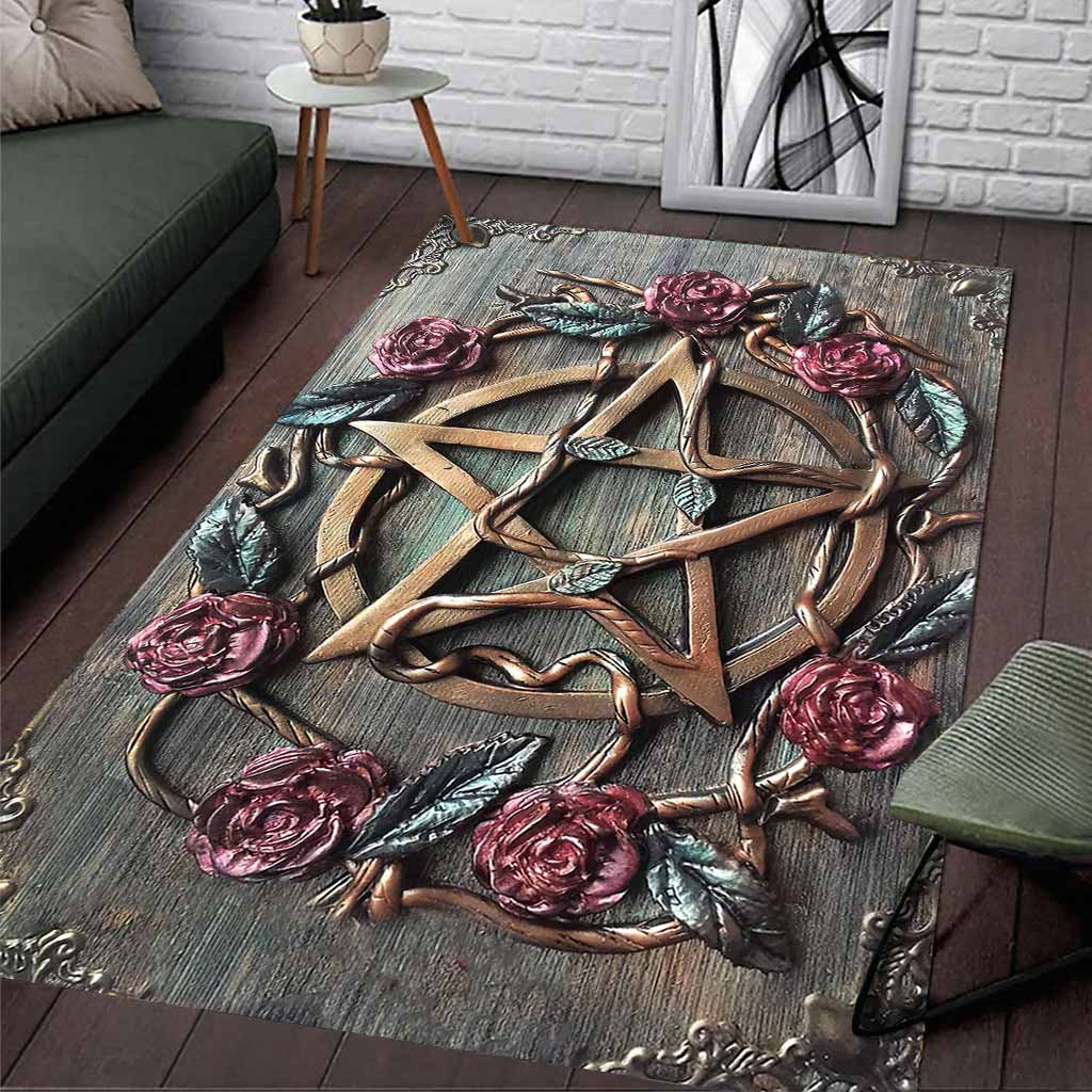 Mystical Witch's 3D Rug - LIMITED EDITION