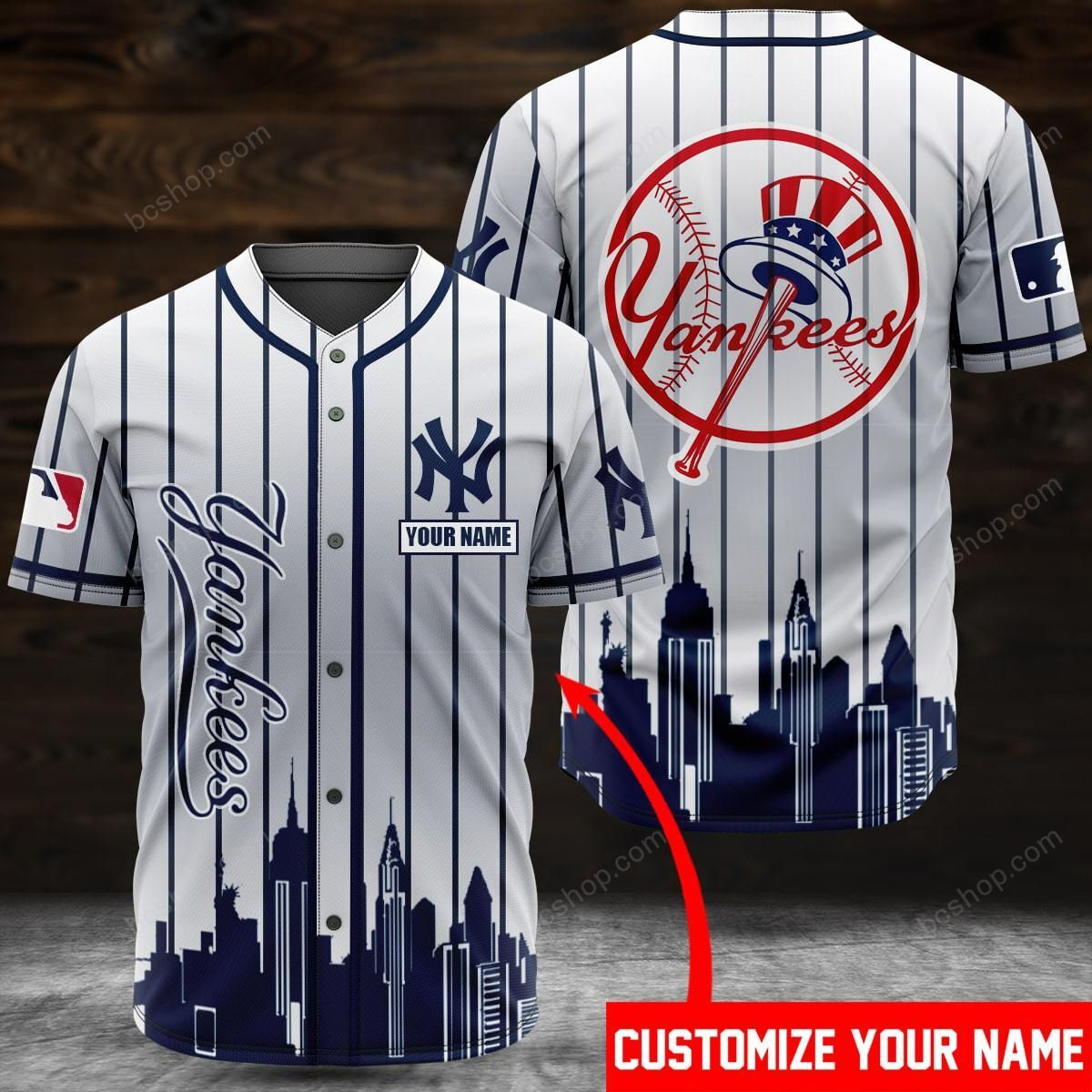 NYC Yankees custom name baseball jersey - LIMITED EDITION