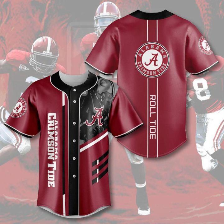 Ncaaf alabama crimson tide baseball jersey - LIMITED EDITION